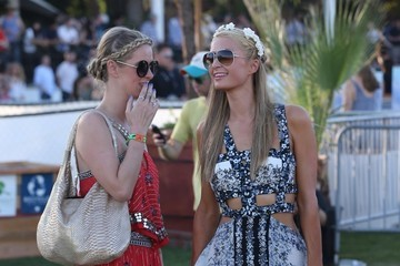 Nicky Hilton Coachella Music Festival Day 1