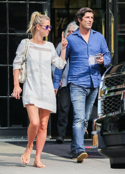 Nicky Hilton and Brandon Davis Leaving the Bowery Hotel []