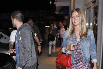 Nicky Hilton David Katzenberg Nicky Hilton & David Katzenberg Leaving Nobu Malibu