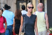 Nicky Hilton Heads Home in NYC