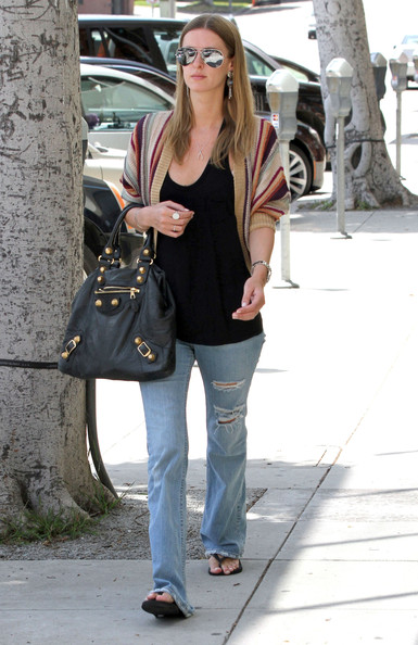 Socialite Nicky Hilton spotted out and about in Beverly Hills, CA.