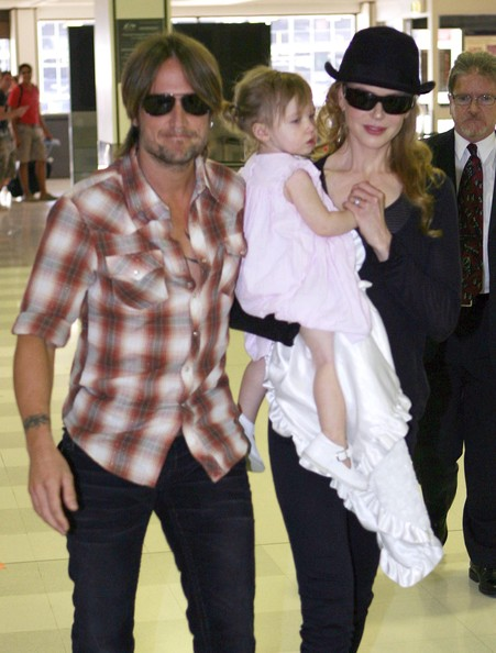 Nicole Kidman Nicole Kidman, Sunday Rose Urban and Keith Urban are seen