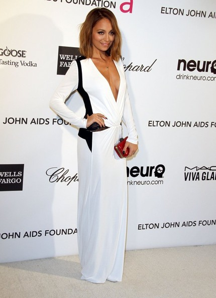 Nicole Richie - Celebs at Elton John's Oscar Party 2