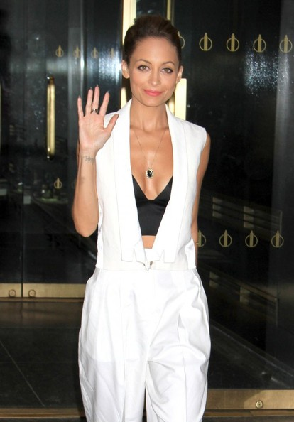 Nicole Richie Celebrities visit NBC Studios for an appearance on 'The Today Show' on June 4, 2013 in New York City, New York.