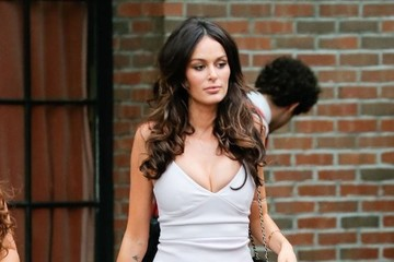 Nicole Trunfio Celebrities Spotted Outside the Bowery Hotel