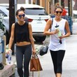 Nikki Reed and Cara Santana Work Out Together