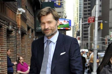 Nikolaj Coster-Waldau Celebrities At 'The Late Show With Stephen Colbert'