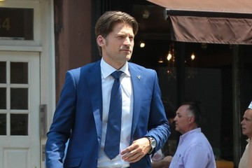 Nikolaj Coster-Waldau 'The Other Woman' Films in NYC — Part 3