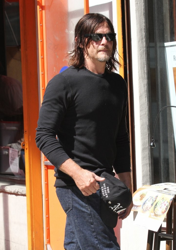 Norman Reedus Photos Photos Norman Reedus Heads Out In