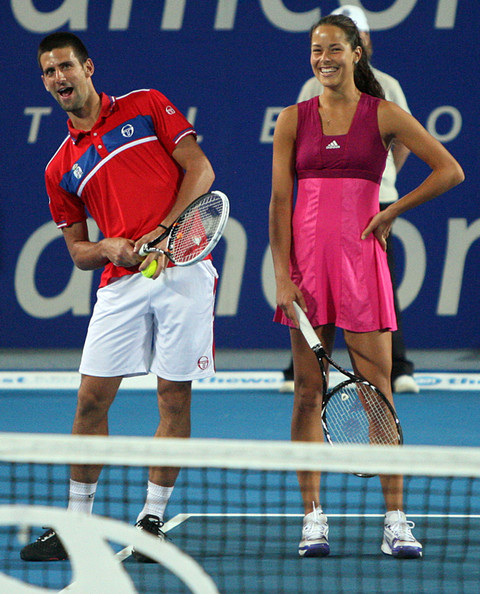 Er Novak Djokovic dating ana Ivanovic
