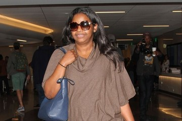 Octavia Spencer Octavia Spencer Touches Down at LAX