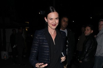 Odette Annable Celebrities Enjoy a Night Out at The Nice Guy Nightclub