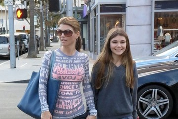 Olivia Giannulli Lori Loughlin Out with Her Daughter