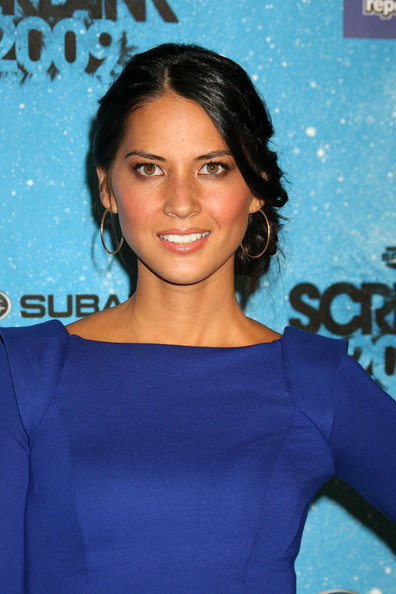 Olivia Munn - Guests Arriving At Spike TV's 2009 Scream Awards