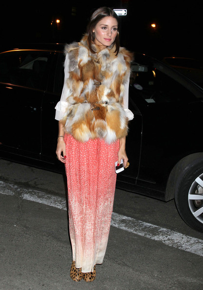 Olivia Palermo - Celebrities At The Tibi Fashion Show In New York