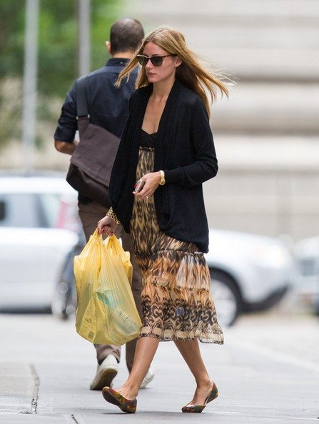 Olivia Palermo Poses In Nyc