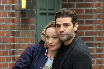 Olivia Wilde Olivia Wilde and Oscar Isaac Perform on the Set of 'Life, Itself'