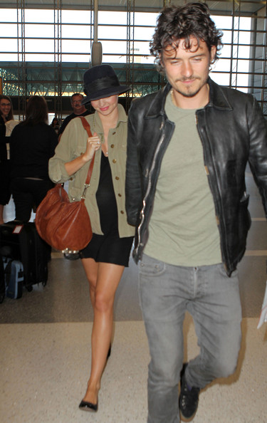 miranda kerr and orlando bloom 2010. Newlyweds Orlando Bloom and