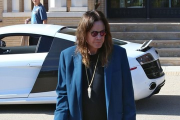Ozzy Osbourne Ozzy and Sharon Osbourne Go Shopping