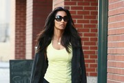 Padma Lakshmi Out and About in NYC