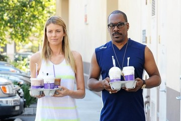 Paige Butcher Eddie Murphy & Paige Butcher Stop For Coffee