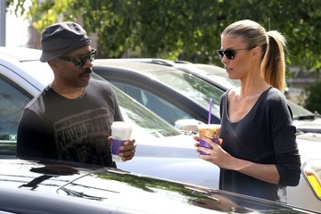 Paige Butcher Eddie Murphy and Paige Make a Coffee Run