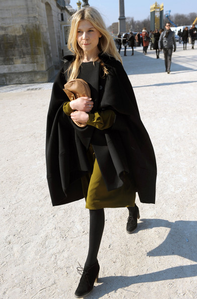 Clemence Poesy Clemence Poesy attends the Chloe Ready to Wear show during Paris Womenswear Fashion Week Fall/Winter 2011 at Espace Ephemere Tuileries in Paris.