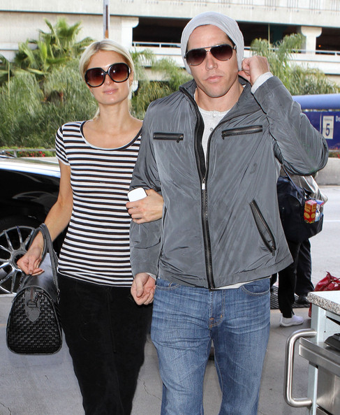 ***FILE PHOTOS*** Paris Hilton And Cy Waits Call It Quits!