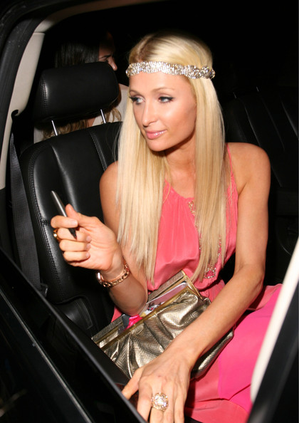 Paris Hilton - Paris Hilton Is Pretty In Pink At Madeo