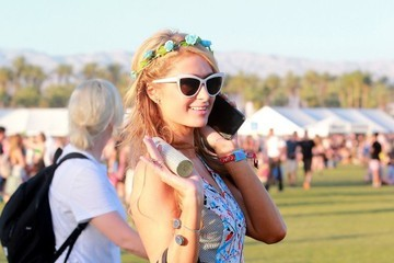 Paris Hilton Coachella Music Festival Day 3