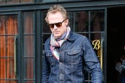Paul Bettany Leaving The Bowery Hotel