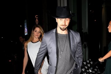 Paul Khoury Celebrities Visit Catch in West Hollywood