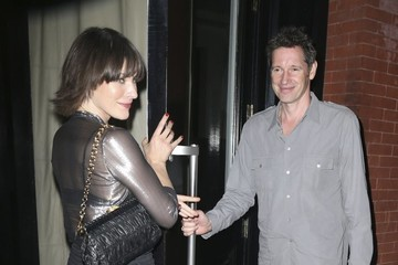 Paul W.S. Anderson Milla Jovovich and Paul W. S. Anderson Go Out in NY