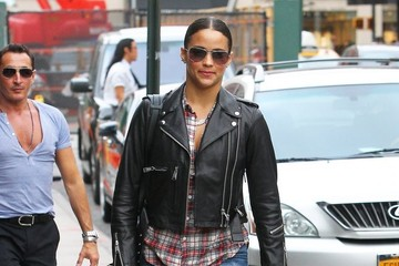 Paula Patton Paula Patton Out in NYC