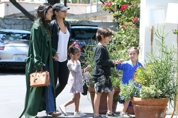 Penelope Disick Kourtney Kardashian Takes Her Kids and North West to Church