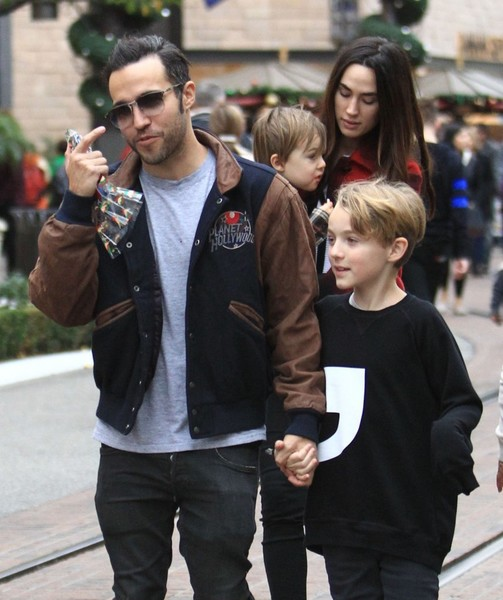 Pete Wentz And His Brother