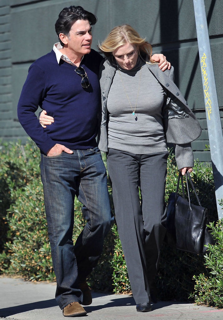peter gallagher and paula harwood photos photos peter