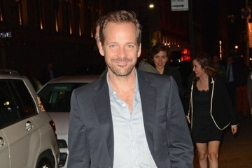 Peter Sarsgaard Celebrities Go Out in New York City