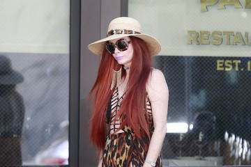 Phoebe Price Phoebe Price Out Walking Her Dog In Beverly Hills