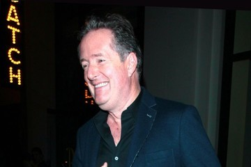 Piers Morgan Celebrities Visit Catch in West Hollywood