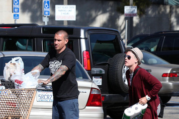 Carey Hart Pink And Carey Hart Grocery Shopping For Their Camping Trip