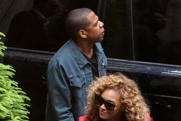Jay-Z Beyonce Knowles Power Couple Jay-Z and Beyonce Lunch Together In Paris