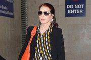 Priscilla Presley Arrives at LAX