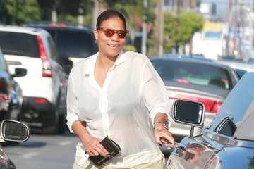 Queen Latifah Queen Latifah Out For Lunch In Los Angeles