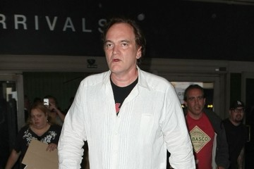 Quentin Tarantino Quentin Tarantino Arrives on a Flight at LAX