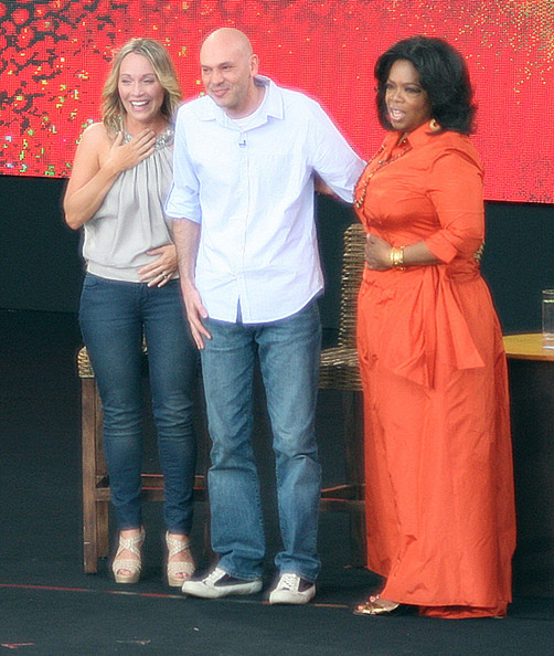 Oprah Gives A Couple 250 Thousand Dollars On The Oprah Winfrey Show In Sydney