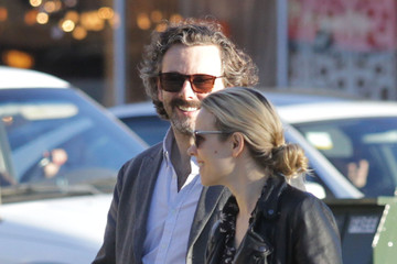 Rachel McAdams Michael Sheen Rachel McAdams and Michael Sheen Get Coffee