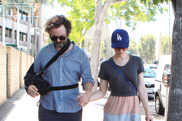 Rachel McAdams Michael Sheen Rachel McAdams And Michael Sheen Shop At The Farmers Market