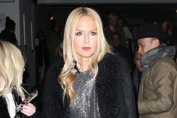 Rachel Zoe Celebrities Leave The Oscar de la Renta Show In NYC