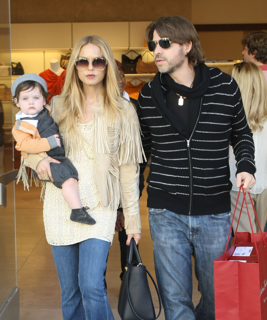 Sale News And Shopping Details March 2012: Rachel Zoe And Family Shopping